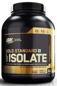 Optimum Nutrition (ON) Gold Standard 100% Isolate Whey Protein Powder Review