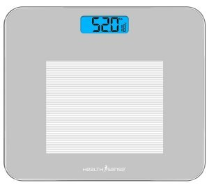 HealthSense Dura-Glass PS 115 Digital Personal Body Weighing Scale