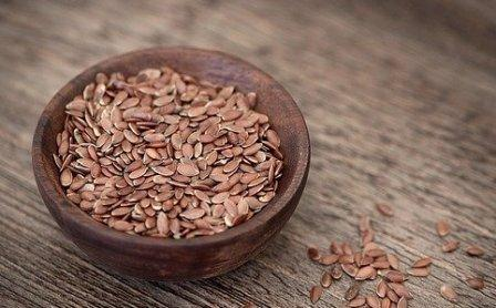 Use of flax seeds in medicine