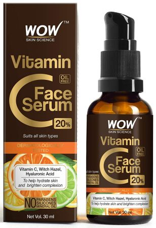 Wow, Vitamin C Hyaluronic Acid Serum