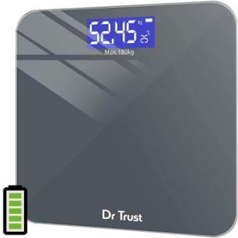 Dr Trust Electronic Platinum Digital Personal Weighing Scale: