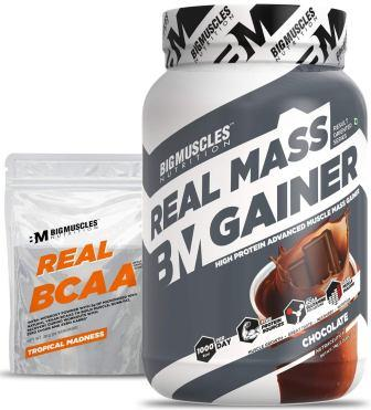 Big muscles Nutrition Real Mass Gainer