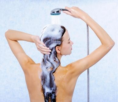 Wash your Hair Gently