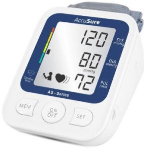AccuSure AS Series Automatic and Advance Feature Blood Pressure Monitoring System