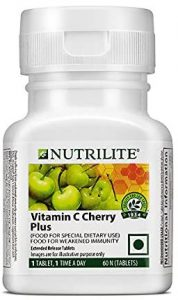 Amway Vitamin C Cherry Plus Tablets