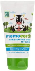 Mamaearth Milky Soft Natural Baby Face Cream for Babies