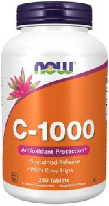Now Foods Vitamin C-1000 Tablets