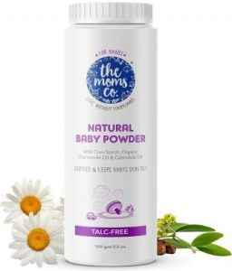 The Moms Co. Talc-Free Natural Baby Powder with Corn Starch