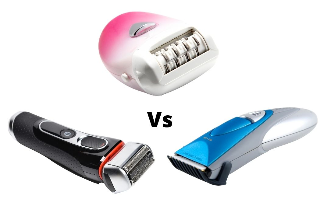 Difference Between Epilator, Trimmer, and Shaver