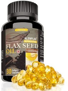 Alenflax Flaxseed Oil Capsules