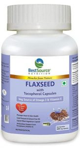 BestSource Flaxseed Oil Capsules with Tocopherol