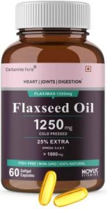 Carbamide Forte Cold Pressed Flaxseed Oil Capsules