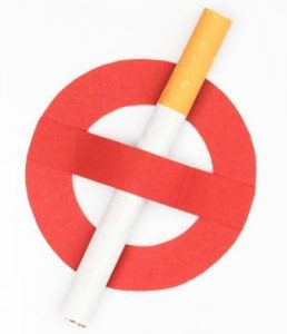 Smoking Is A Strict No